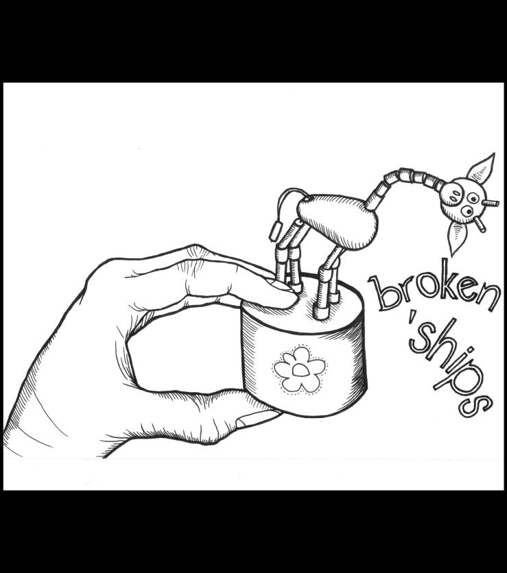broken ships